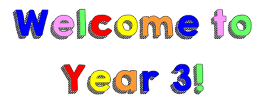 Welcome to Year 3 - For Website